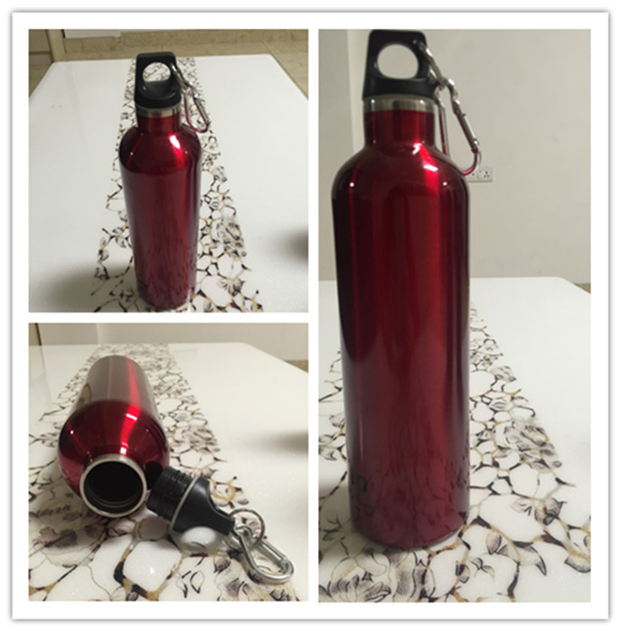 750ml Promotional Drinking Plastic Sports Bottle with Cap (SH-ST13)