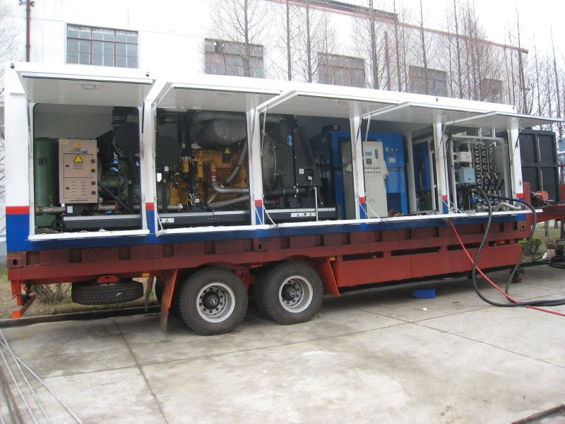 Movable Oxygen System/Oxygen Generator with Container