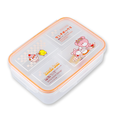 FDA/LFGB Approved Stackable and Nestable Plastic Container