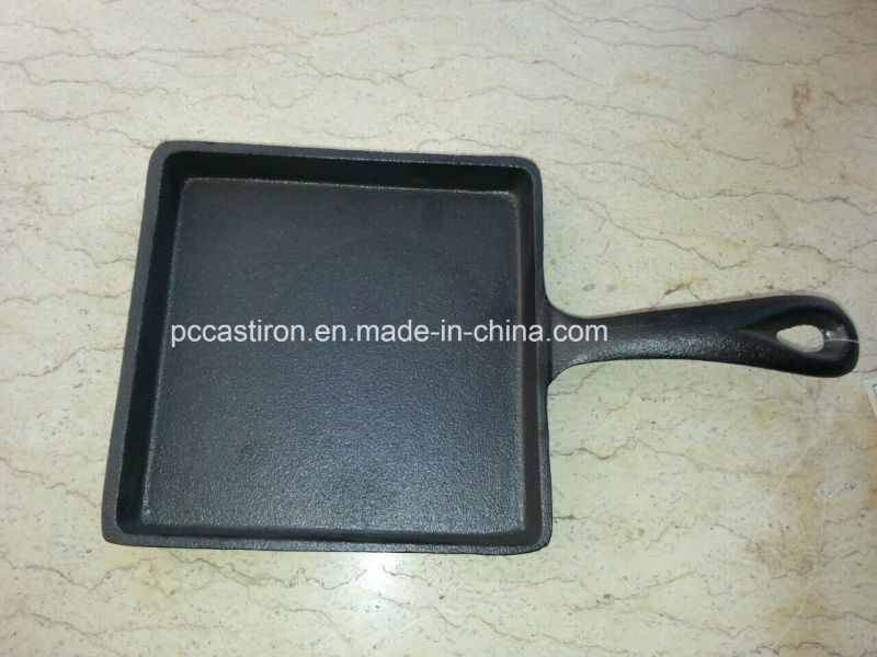 Oval Cast Iron Mini Sizzler Server Supplier From China