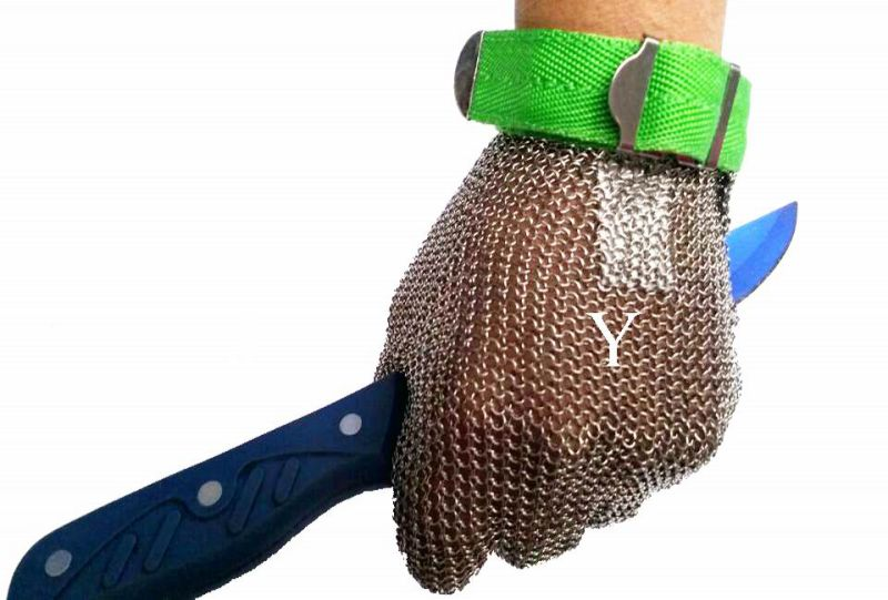 Chain Mail Hand Gloves for Butcher/Stainless Steel Gloves