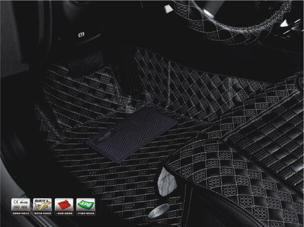 Car Mats Acm101c Imitation Leather XPE Carpet for Volvo