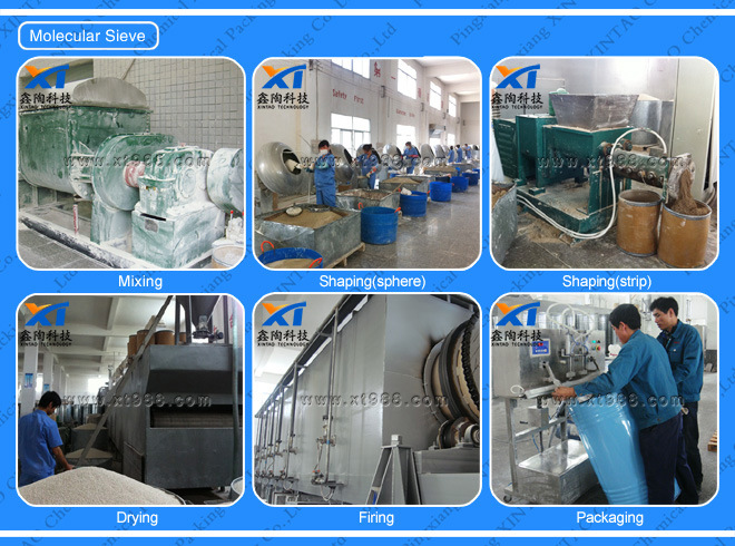 Xintao Molecular Sieve 5A with High Crushing Strength Psa Generator