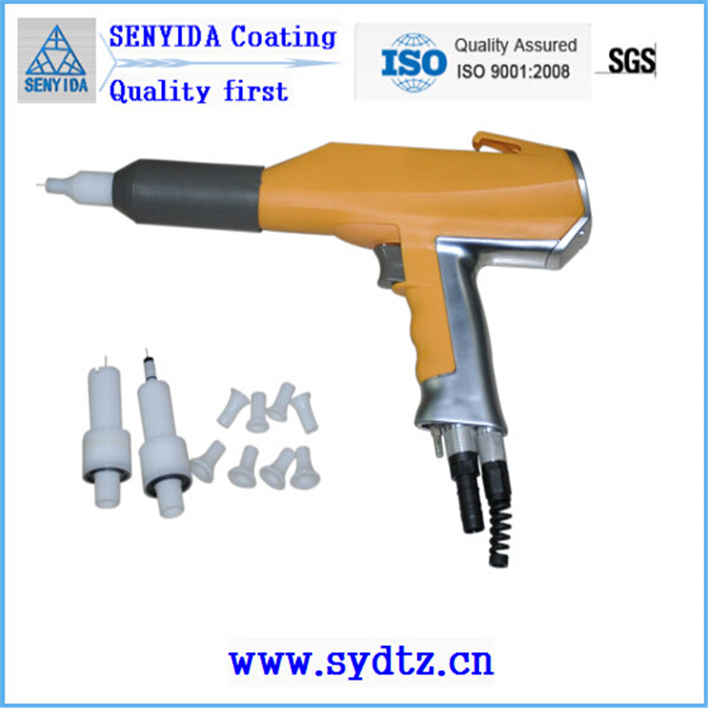 Electrostatic Spray Paint Powder Coating Spray Gun