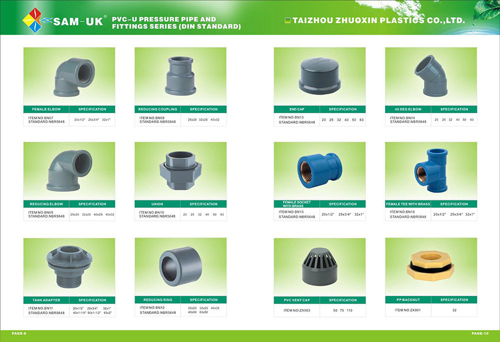 PVC Elbow 90 Bend Pipe PVC Pipe Fitting