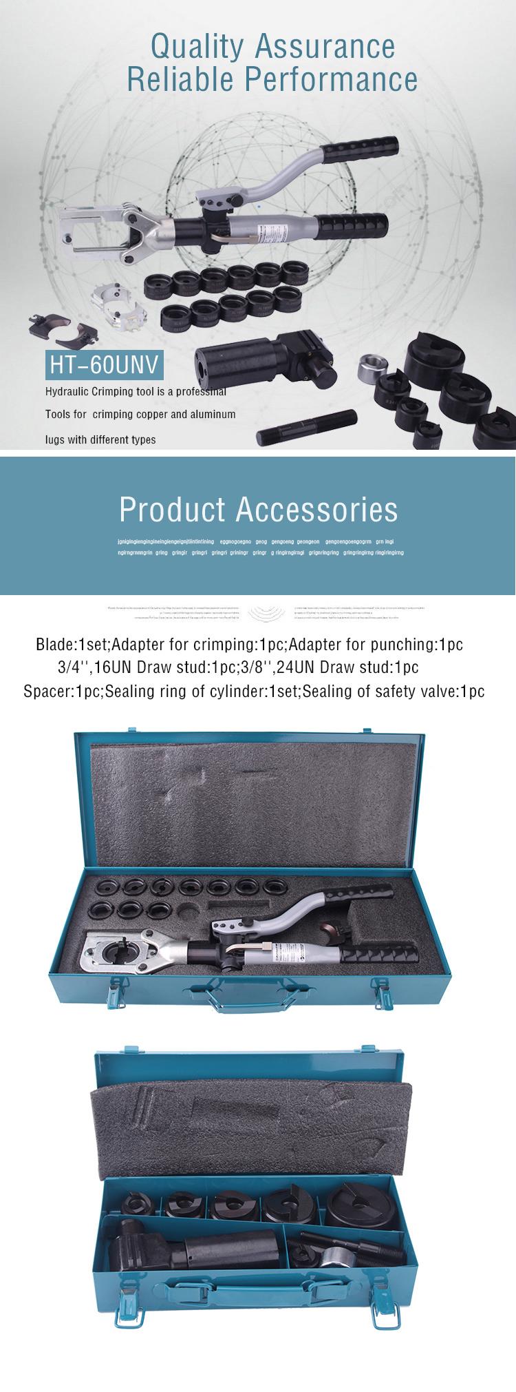 Zupper Hydraulic Crimping Cutting Punching Tool
