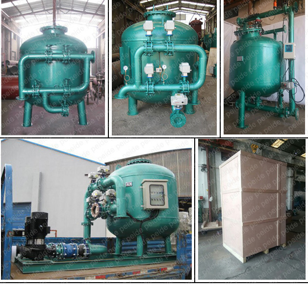 Irrigation Industrial Swimming Pool Sand Filter for Water Treatment