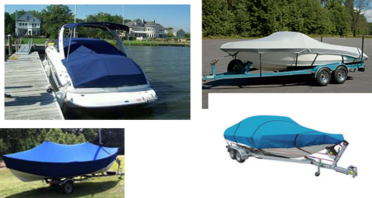 Waterproof UV Resistant Heavy Duty Oxford Fabric Boat Covers