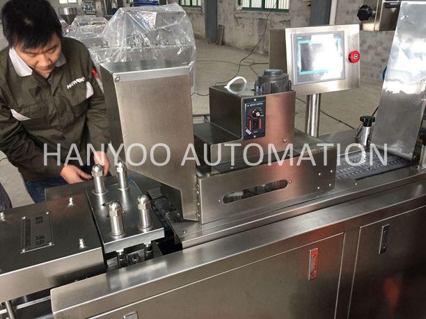Alu PVC Alu Alu Blister Packaging Machine
