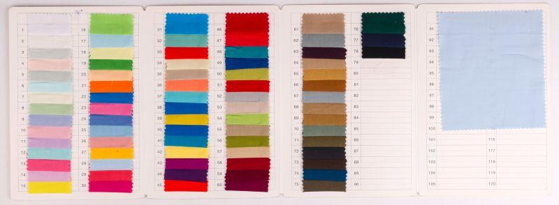 Linen Like 100% Cotton Plain Fabric for Garment