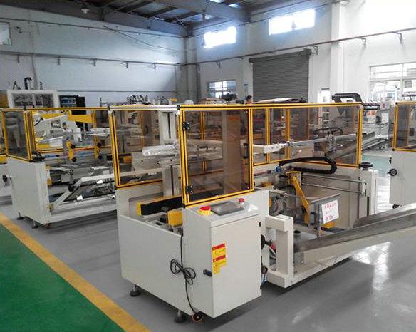 Automatic Carton Box Erecting Machine