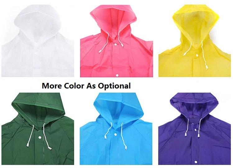 Wholesale Promotion Tech Waterproof PVC Yellow Rain Coat Fishing