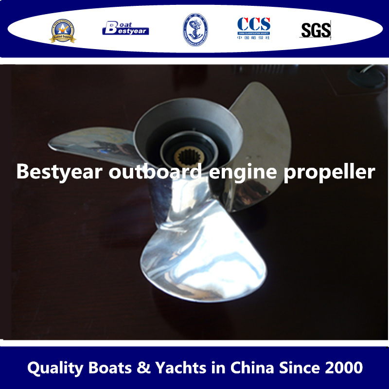 Outboard Engine Propeller of Aluminium or Stainless Steel