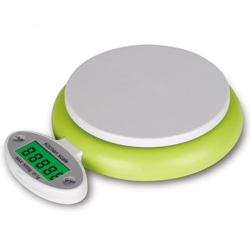 5kg/1g Digital Food Kitchen Scale Electronic Diet Balance with Bowl
