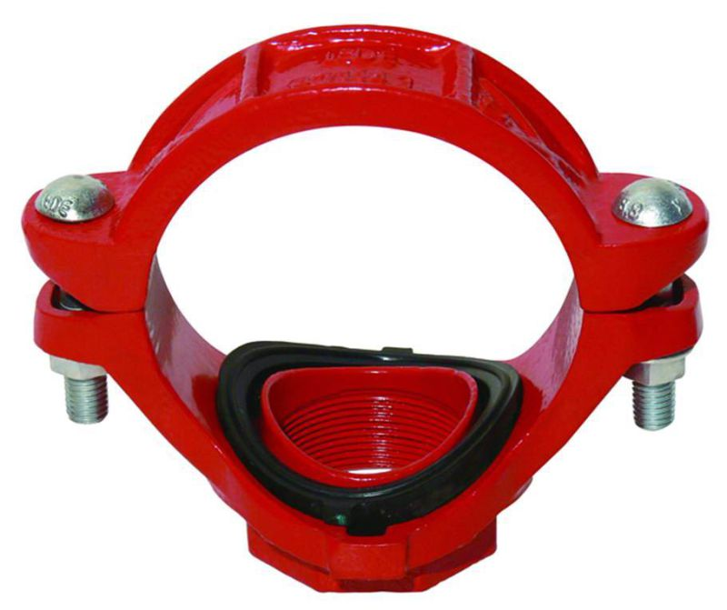 Ductile Iron 300psi Grooved Threaded Flange