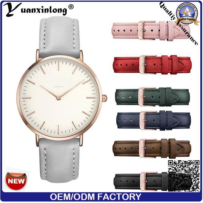 Yxl-581 Luxury Quartz Custom Watch Leather Stainless Steel Branded Fashion Women Vogue Ladies Watches