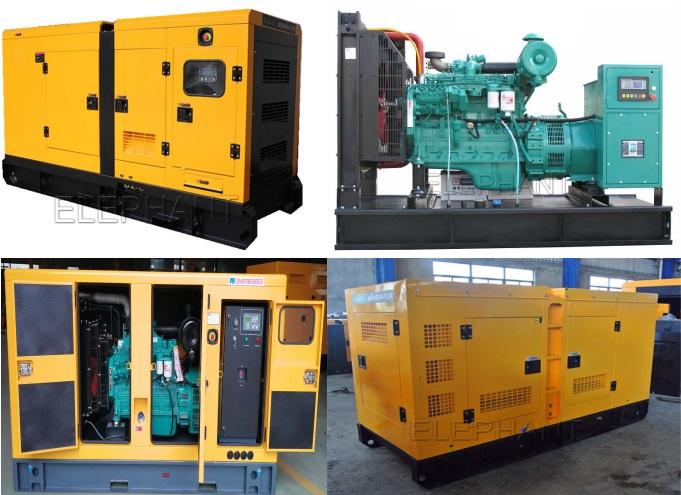 Power King 290kVA 232kw Cummins Silent Diesel Generator Set