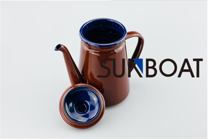 Enamel Traditional Chinese Kettle