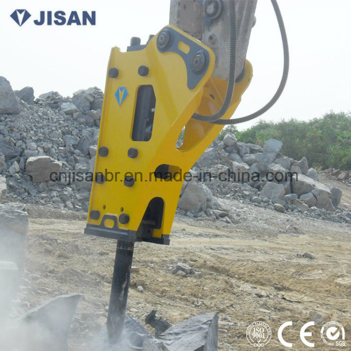 Good Quality Hydraulic Demolition Hammer with Chisel 135mm