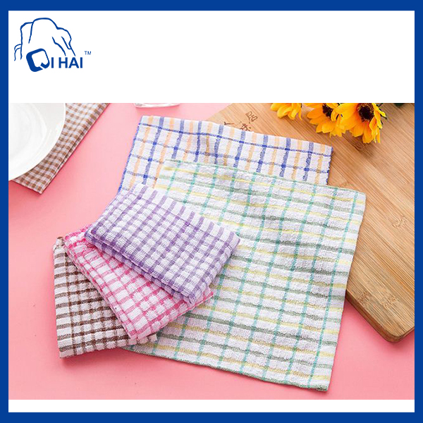 Cotton Kitchen Cleaning Cloth Towel (QHB88560)