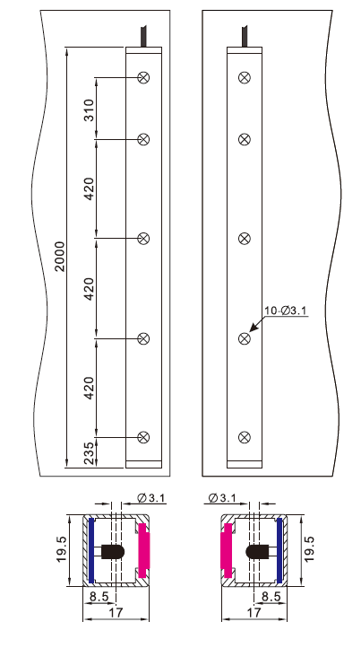 Sft Elevator Light Curtain (SFT-621)