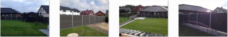 Shadow Box Composite Fence, Europe Style