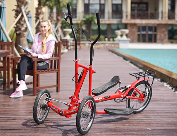 Outdoor Body Exercise High Quality Street Elliptical Strider Bike