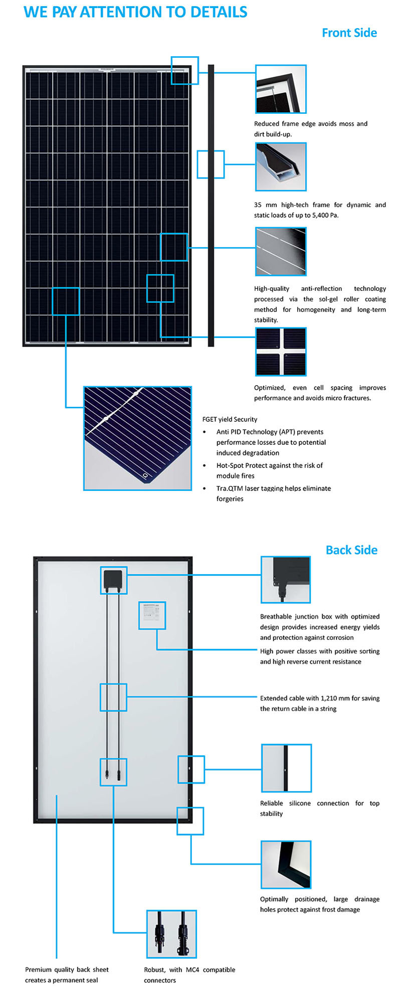 5W 10W 25W Solar Products PV Solar Panel System