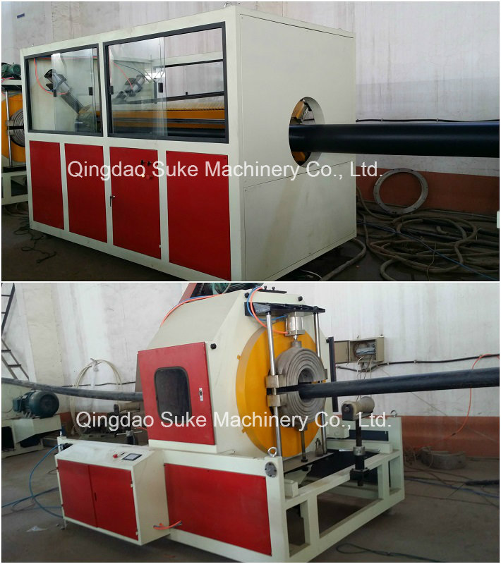 PE Huge Diameter Pipe Extrusion Making Machine