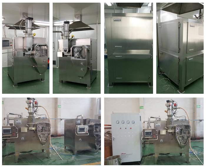 Dry Roller Compactor/Granulator/Pelletizer for Chemical and Food Industry
