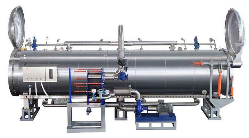 Full Automatic Food Retort Machine/Steam Autoclave/Sterilization Machine
