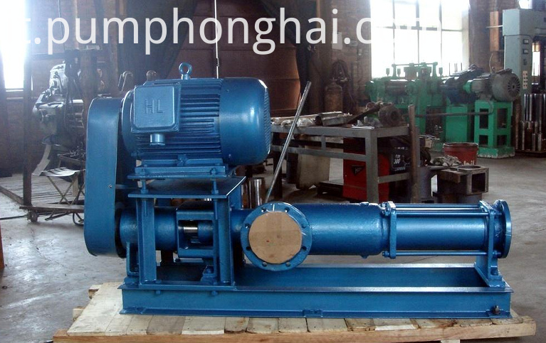 cast iron material backpack screw pump