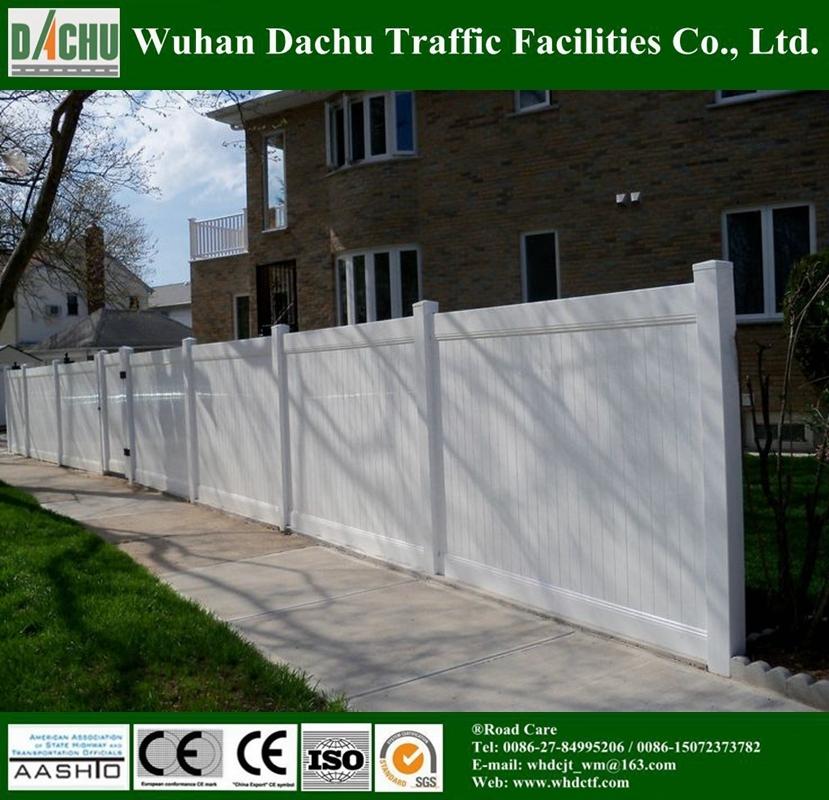 Good Quality PVC Picket Fence