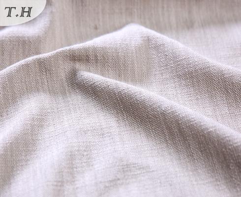 Pale Pink Sofa Fabric Price Per Meter Linen Material
