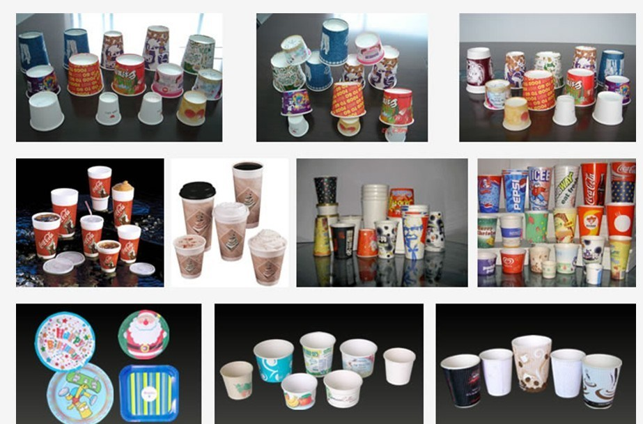 High Speed Automatic Disposable Paper Coffee Carton Cup Making Machine