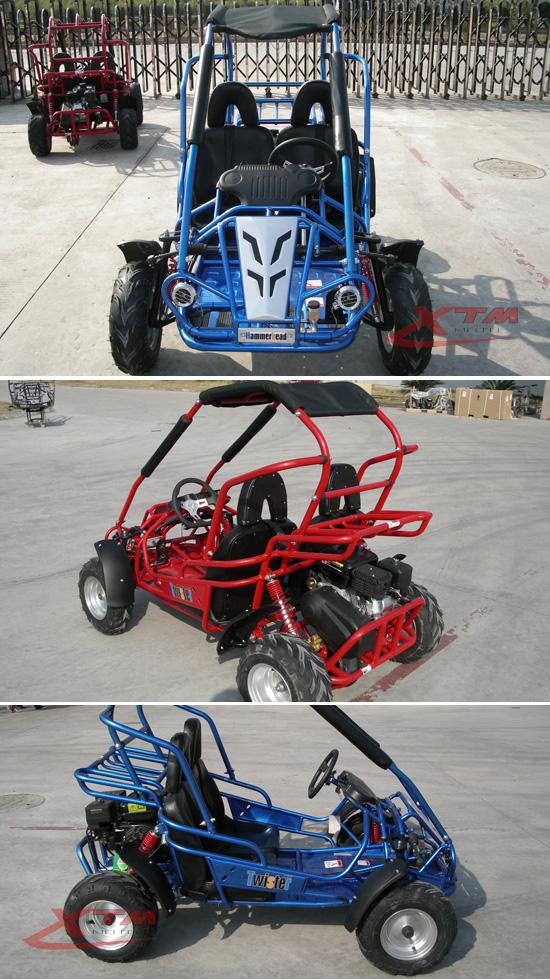 200cc Racing Gas New Two Seat Go Kart Dune Buggy