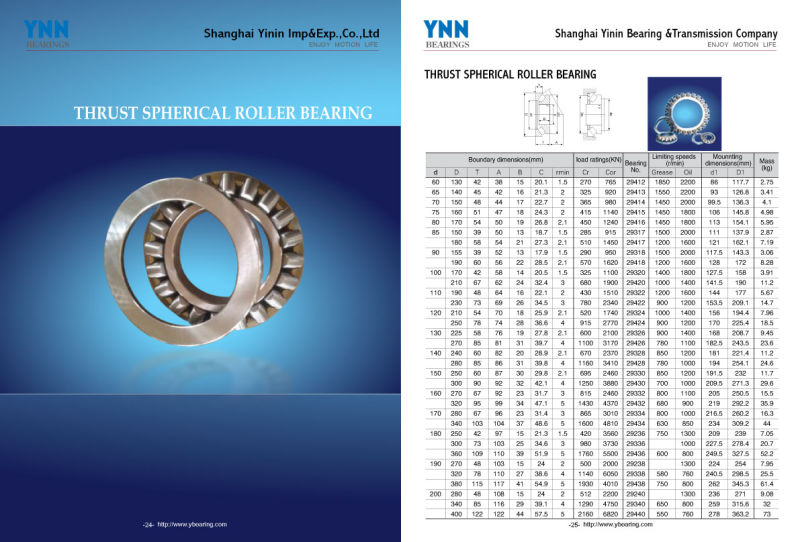 Thrust Needle Roller Bearing (AXK 100135) with Washer (AS 100135, LS 100135)