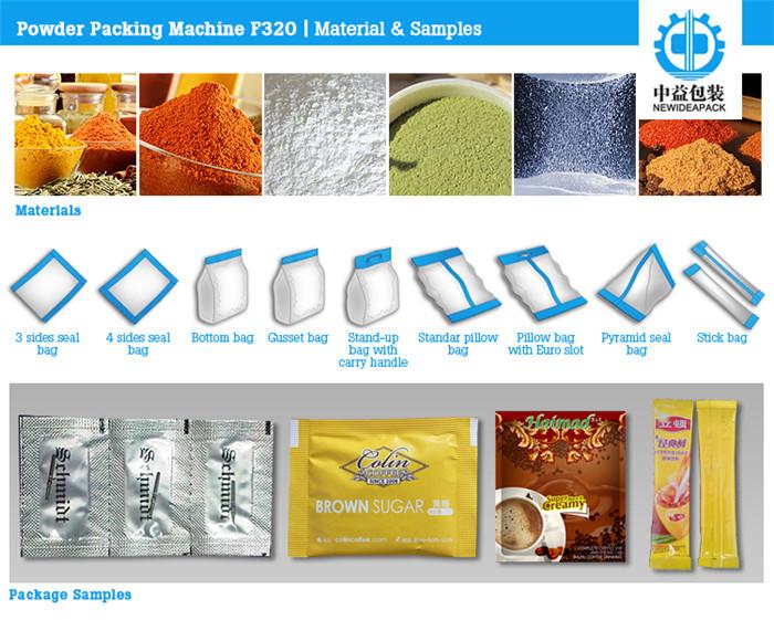 ND-F320 Back/Pillow Sealing Packaging Machine