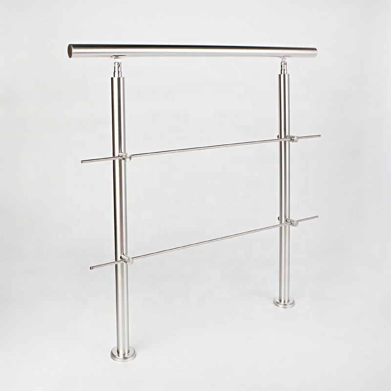 Stainless Steel Removable Stair Handrail for Staircases