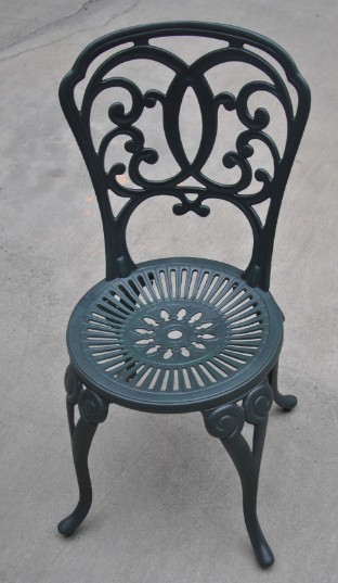 Bistro Set Cast Aluminium Patio Garden Outdoor Furniture