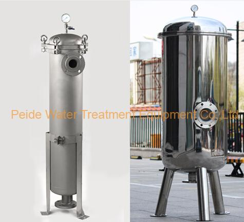 1um-800um Multiple Bag Filtration System Water Purification Machine
