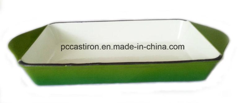 Enamel Cast Iron Platter Manufacturer From China