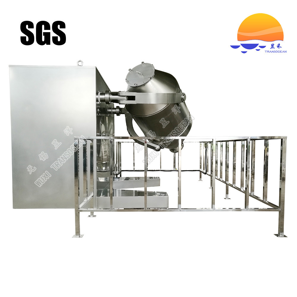 Three Dimension Dry Powder Mixer for Food Industry