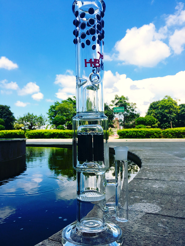 New Arrival Arm Tree and Honey Comb Percolator Glass Pipe Glass Water Pipe