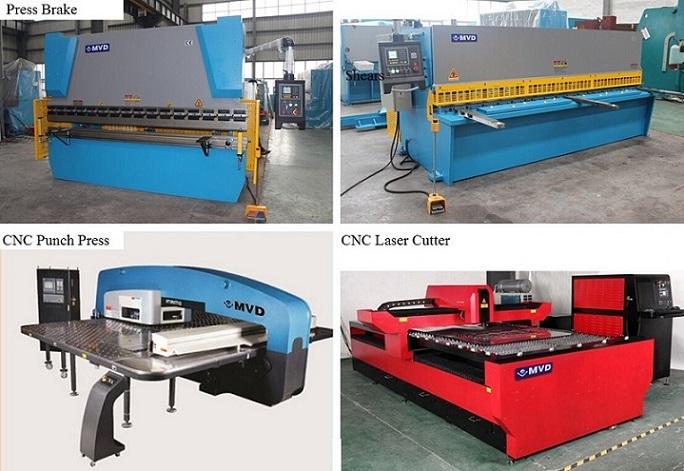 4mm Sheet Metal Bending Machine 80 Ton Plate Bending Machine