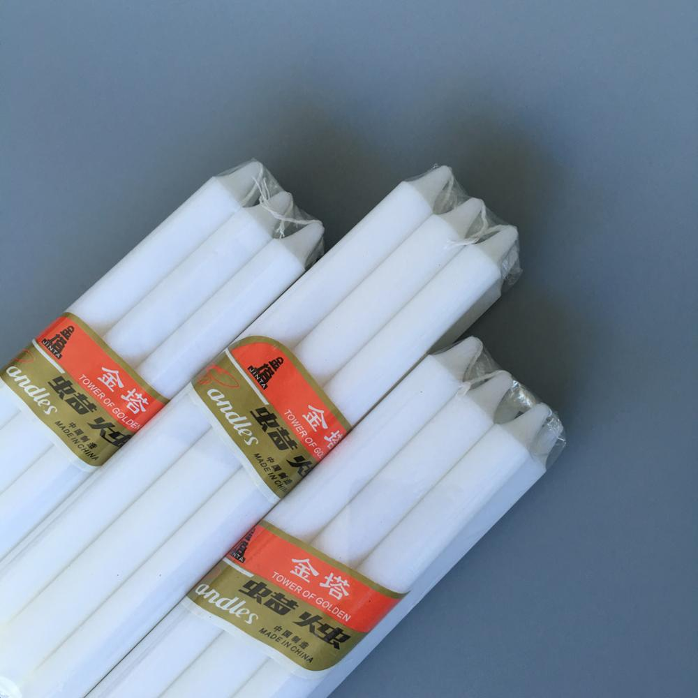 6PCS Polybag Stick Candle