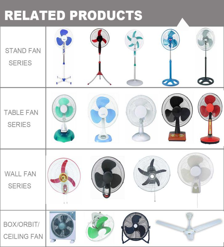 2016 New Arrival 18inch Industrial Fan with Plastic Grill