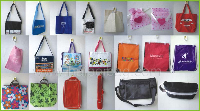 Custom Printed Drawstring Plastic Packaging Bag (hdpl-5)
