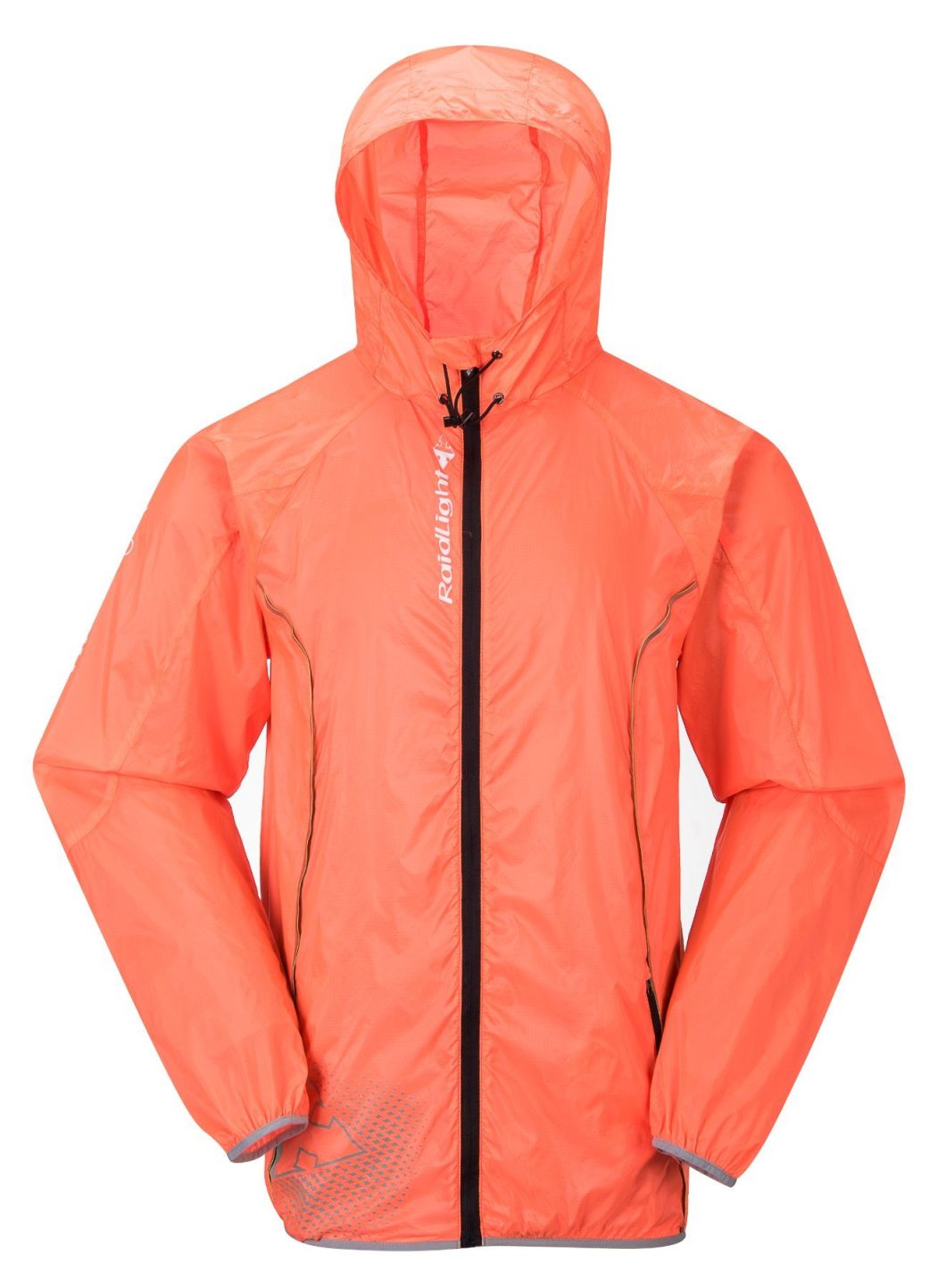 Ultra Light 210t Orange PU Coating Raincoat