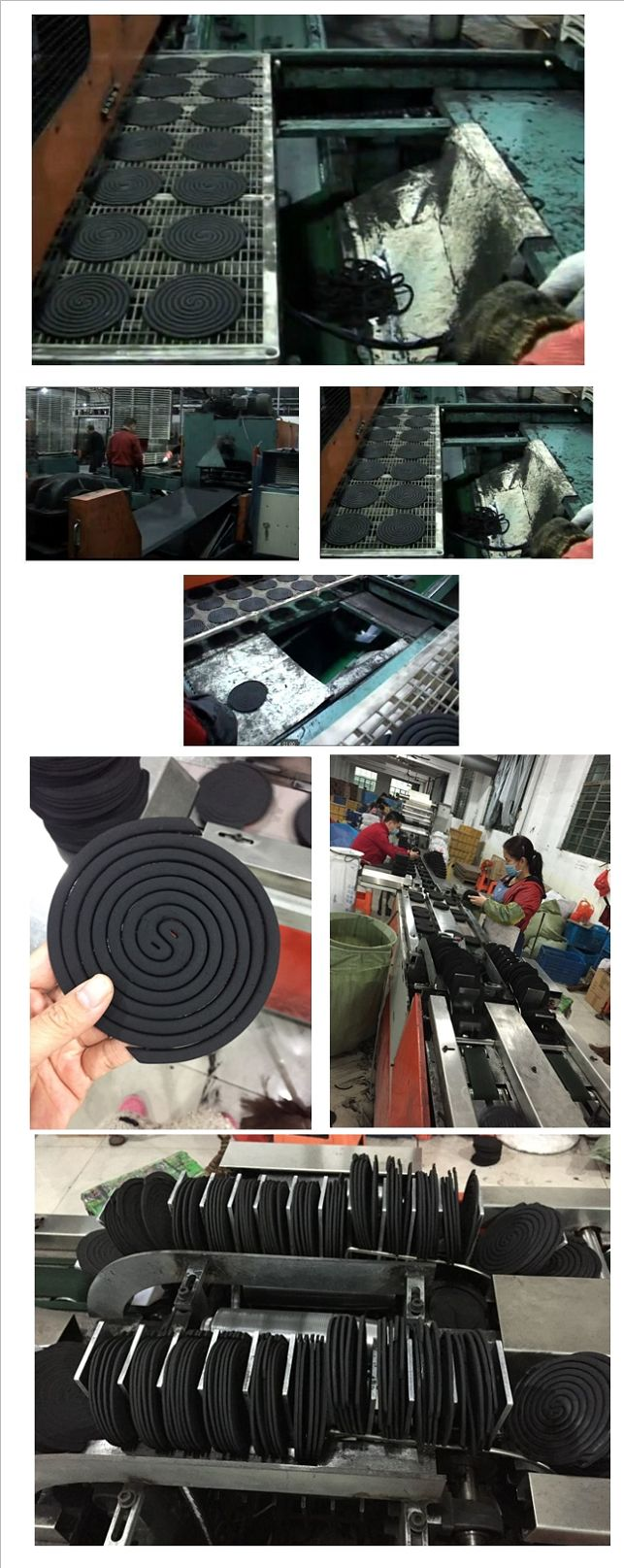 125mm 130mm 140mm 147mm Rad Factory Brand Mosquito Coil Repellent Killer China Supper OEM